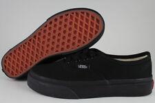 VANS AUTHENTIC BLACK MONO CLASSIC SKATE 0WWXENR BOYS GIRLS KIDS US YOUTH SIZES