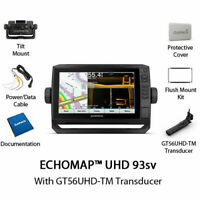 NEW Garmin ECHOMAP UHD 93sv Chartplotter/Fishfinder with GT56UHD-TM 010-02523-01