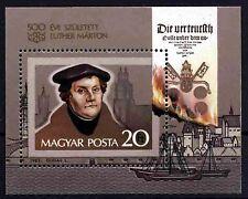 1333 Hungary 1983 Martin Luther S/S MNH