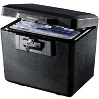 Fireproof File Document Security Box Fire Resistant Locking Storage Safety Box