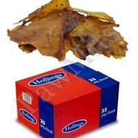 PORK RINDS - (x1 - x25) - Hollings Dog Food Chew Rawhide Feed bp PawMits Treats