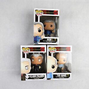 3x Twin Peaks Funko Pop Leland Palmer 452 Giant 453 Bob 449 New in Box Free Ship