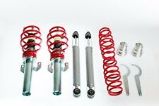 KIT SUSPENSION REGLABLE FILETÉ COMBINES AMORTISSEUR VW POLO 9N