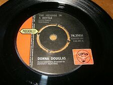 DONNA DOUGLAS - THE MESSAGE IN A BOTTLE - IF THIS IS LOVE  / LISTEN - GIRL