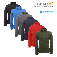 Regatta Mens Thompson Half Zip Lightweight Base layer Micro Fleece Pullover Top