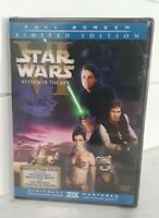 Star Wars Return of the Jedi Limited Edition DVD Full Screen Fisher Hamill Ford