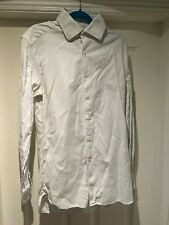 Men's White/Green Reiss Clarridge Shirt Size M (38) RRP £95