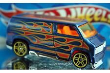 2017 Hot Wheels HW Flames Custom '77 Dodge Van