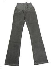 T01305 Damen Schwanger Hose Jeans Bellybutton Gr. 38 Mod. Maya, grau Stretch