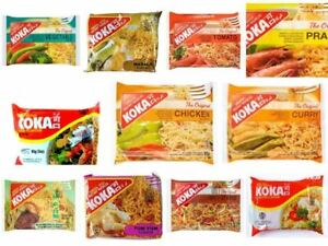 KOKA Oriental Noodles-All Favours Multi Listing-(Pack of 10)