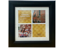MCS Value Collage Frame Matted For Four 4x4  (Same Shipping Any Qty)