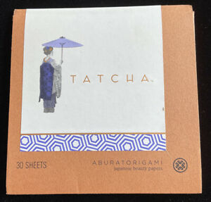 Tatcha Aburatorigami Japanese Beauty Papers 30 Sheets Oil Paper Blot Face Beauty