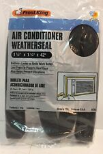"""FrostKing -Air Conditioner Foam Weatherseal-1-1/4"""" X 1-1/4"""" X 42"""" New 3 Packs"""