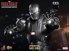 Hot Toys Iron Man 3 War Machine MK II 2 Die Cast MMS198 D03 - New/Sealed!