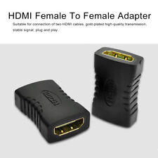LX_ 5PCS 19 PIN HDMI FEMALE TO FEMALE COUPLER EXTENDER ADAPTER CONVERTER _GG