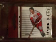 2003-04 Upper Deck Classic Portraits #991/1100 Gordie Howe Etched in time MINT