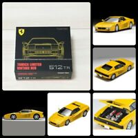 Tomica Limited Vintage Neo Ferrari 512TR Yellow Tomy Mall Limited 1/64 Japan F/S