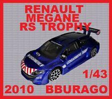 RENAULT MEGANE RS TROPHY GENDARMERIE 2010 BBURAGO 1/43 (((((SUPER PROMO)))))