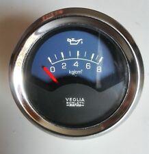 Oil pressure gauge instrument VEGLIA BORLETTI marina 60mm NOS ORIGINAL VINTAGE