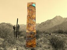 Bookmark Hand Forged Artisan Copper Metal, Fire Patina  6