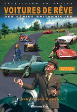 BRITISH TV CARS BOOK THE AVENGERS McGOOHAN MOORE SAINT PERSUADERS ITC PRISONER
