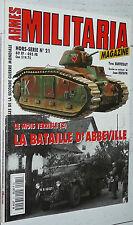 ARMES MILITARIA HS N°21 LA BATAILLE D'ABBEVILLE SOMME MAI JUIN 1940 WEHRMACHT