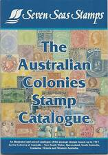 SEVEN SEAS AUSTRALIAN STATES COLONIES STAMP CATALOGUE in Colour *FREE POSTAGE**