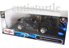 Maisto Jeep Wrangler Rubicon 1:18 Diecast Dark Blue 31663