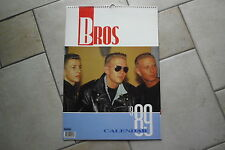 Bros  Kalender 1989,ohne Folie,war noch nie gehangen ,42 x 30 cm Posterkalender