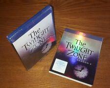 THE TWILIGHT ZONE Season 4 5disc Blu-ray US import region a (rare OOP slipcover)