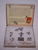 "Walt Disney's Animated Shorts Mickey Mouse Pin Set #13 ""Mickey's Nightmare"" NIB"