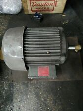 New Listingnewman 3 Phase Electric Motor 3 Horsepower 230460 Volts