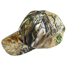 OUTDOOR SUMMER REAL TREE CAMO CAMPING HIKING ADJUSTABLE BASEBALL CAP HAT-50027