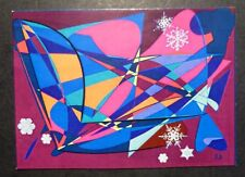 ACEO - SNOW IN SPRING - LIMITED EDITION PRINT 50-R.BOZZETTI--12-44