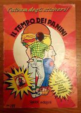 """""""IL TEMPO DEI PANINI"""" ALBUM STICKERS FIGURINE RABBIT EDIZIONI ANNI 80 (PANINARO)"""