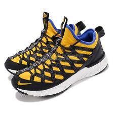 Nike ACG React Terra Gobe Amarillo Yellow Black Mens Outdoors Shoes BV6344-700