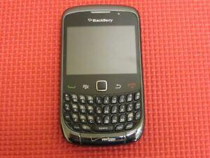 BlackBerry Curve 9330 257MB Black Verizon Wireless QWERTY Cell Phone RCL22CW