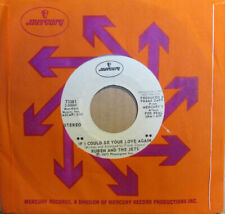 """RUBEN AND THE JETS """"IF I COULD BE YOUR LOVE AGAIN"""" 7' USA promo mint FRANK ZAPPA"""
