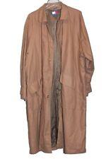 Vintage Tommy Hilfiger Men's Tan Khaki Lined Trench Coat Sz L