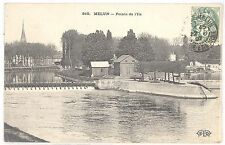 CPA 77 - MELUN (Seine et Marne) - 810. Pointe de l'Ile