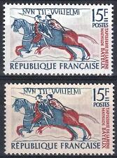 """FRANCE STAMP TIMBRE 1172 """" TAPISSERIE BAYEUX VARIETE COULEUR """" NEUF xx SUP  M364"""