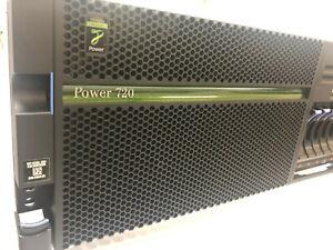 8202-E4C, IBM Power 720 4-core 3.0GHz - no PVM
