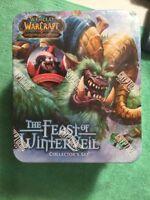 2012 WORLD WARCRAFT THE FEAST OF WINTERVEIL COLLECTORS TIN SET