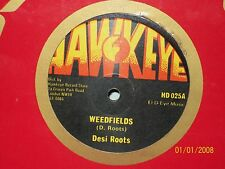 "12"" WEED FIELDS; MIND BLOWING DECISIONS; DESI ROOTS; UK ORIGINAL HAWKEYE HD 025"