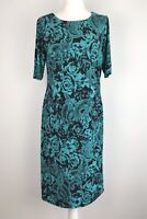 david emanuel Bodycon Dress Size 12 Stretch Floral Cruise Party Occasion