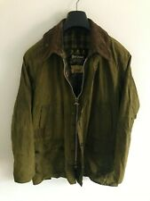 Mens Barbour Bedale wax jacket Green coat 42 in size Medium/ Large M/L #1