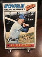 1977 Topps George Brett Kansas City Royals #580 Baseball Card