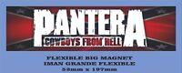 Pantera - Cowboys From Hell FLEXIBLE BIG MAGNET IMÁN GRANDE