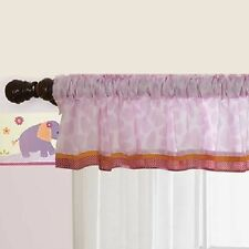 Lambs & Ivy Company Window Valance, Lil Friends Pink Bedtime Originals