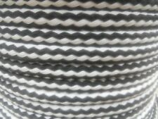 "1/2"" x 450 ft. spool of Hollow Braid Polypropylene Rope.Black/White"